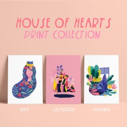 Print Set Of 3 : : House Of...
