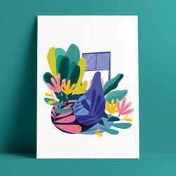 Florabell : : A3 Art Print