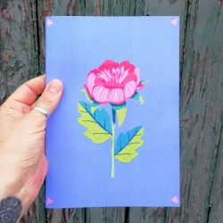 Cassia Pearl Floral : Notebook