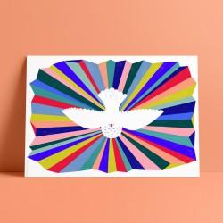 Divine Pigeon : Art Print