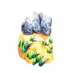 Dolomites I : Watercolour +...