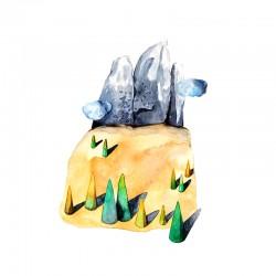 Dolomites II : Watercolour...